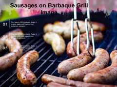 Sausages On Barbaque Grill Image Ppt Powerpoint Presentation Professional Clipart Pdf