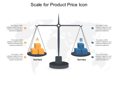 Scale For Product Price Icon Ppt PowerPoint Presentation Inspiration Gridlines