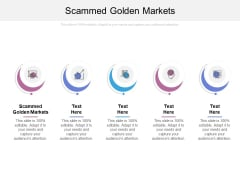 Scammed Golden Markets Ppt PowerPoint Presentation Professional Outfit Cpb