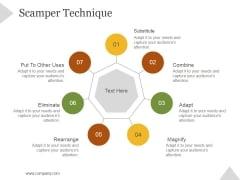 Scamper Technique Ppt PowerPoint Presentation Gallery