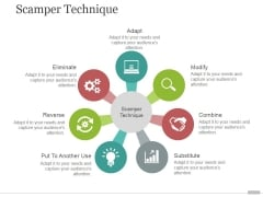 Scamper Technique Tamplate 2 Ppt PowerPoint Presentation Slides