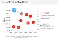 Scatter Bubble Chart Ppt PowerPoint Presentation Infographic Template Examples