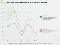Scatter With Smooth Lines And Markers Ppt PowerPoint Presentation Diagram Lists