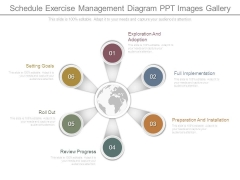 Schedule Exercise Management Diagram Ppt Images Gallery