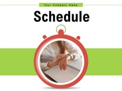 Schedule Time Management Matrix Ppt PowerPoint Presentation Complete Deck
