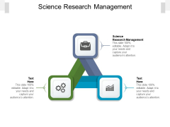 Science Research Management Ppt PowerPoint Presentation Slides Objects Cpb Pdf