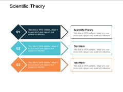 Scientific Theory Ppt PowerPoint Presentation Ideas Graphics Template Cpb