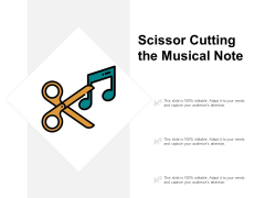 Scissor Cutting The Red Ribbon Ppt PowerPoint Presentation Show