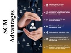 Scm Advantages Ppt PowerPoint Presentation Pictures Inspiration