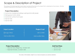 Scope And Description Of Project Action Priority Matrix Ppt Professional Ideas PDF
