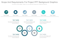 Scope And Requirements For Project Ppt Background Graphics