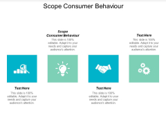 Scope Consumer Behaviour Ppt PowerPoint Presentation Styles Images Cpb