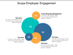 Scope Employee Engagement Ppt PowerPoint Presentation Show Grid Cpb