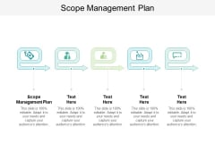 Scope Management Plan Ppt PowerPoint Presentation Visual Aids Model Cpb