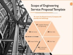 Scope Of Engineering Service Proposal Template Pictures PDF