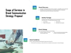 Scope Of Services In Brand Communication Strategy Proposal Ppt Layouts Format PDF