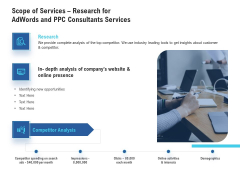 Scope Of Services Research For Adwords And PPC Consultants Services Topics PDF