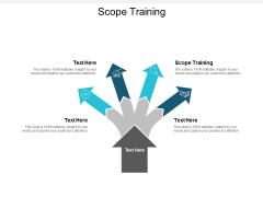 Scope Training Ppt PowerPoint Presentation Infographic Template Portrait Cpb