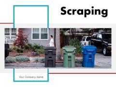 Scraping Road Construction Plastic Bottles Ppt PowerPoint Presentation Complete Deck