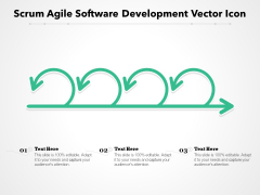 Scrum Agile Software Development Vector Icon Ppt PowerPoint Presentation Gallery Slide PDF