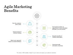 Scrum For Marketing Agile Marketing Benefits Ppt PowerPoint Presentation Layouts Icon PDF