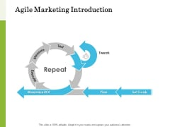 Scrum For Marketing Agile Marketing Introduction Ppt PowerPoint Presentation Summary Diagrams PDF