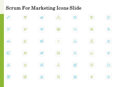 Scrum For Marketing Icons Slide Ppt PowerPoint Presentation Show Structure PDF