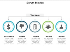 Scrum Metrics Ppt PowerPoint Presentation Professional Guide Cpb