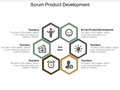 Scrum Product Development Ppt Powerpoint Presentation Ideas Layout Cpb