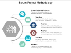 Scrum Project Methodology Ppt Powerpoint Presentation File Themes Cpb