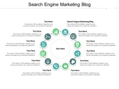 Search Engine Marketing Blog Ppt PowerPoint Presentation Infographics Demonstration Cpb