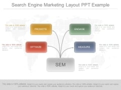 Search Engine Marketing Layout Ppt Example
