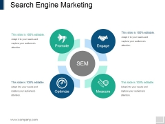 Search Engine Marketing Ppt PowerPoint Presentation Gallery Summary