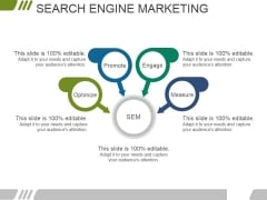 Search Engine Marketing Ppt PowerPoint Presentation Graphics