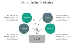 Search Engine Marketing Ppt PowerPoint Presentation Infographics