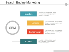 Search Engine Marketing Ppt PowerPoint Presentation Pictures Files