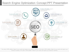 Search Engine Optimization Concept Ppt Presentation