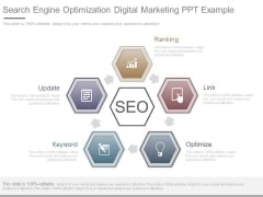 Search Engine Optimization Digital Marketing Ppt Example