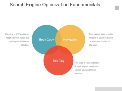 Search Engine Optimization Fundamentals Ppt PowerPoint Presentation File Graphics Design
