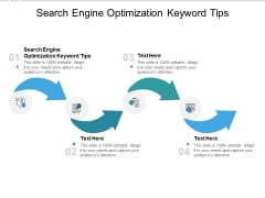 Search Engine Optimization Keyword Tips Ppt PowerPoint Presentation Gallery Designs Cpb