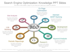 Search Engine Optimization Knowledge Ppt Slides