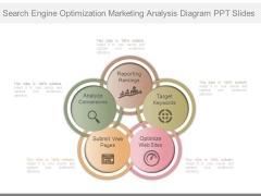 Search Engine Optimization Marketing Analysis Diagram Ppt Slides
