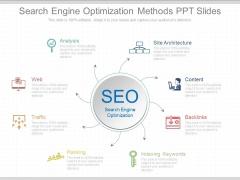 Search Engine Optimization Methods Ppt Slides