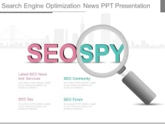 Search Engine Optimization News Ppt Presentation
