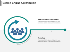 Search Engine Optimization Ppt PowerPoint Presentation Visual Aids Icon