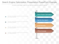 Search Engine Optimization Presentation Powerpoint Example