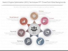 Search Engine Optimization Seo Techniques Ppt Powerpoint Slide Backgrounds