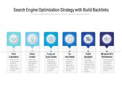 Search Engine Optimization Strategy With Build Backlinks Ppt PowerPoint Presentation Model Templates