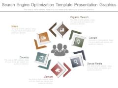 Search Engine Optimization Template Presentation Graphics