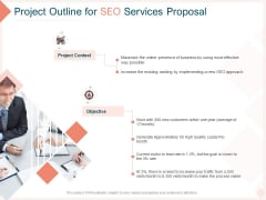 Search Engine Optimization Utilities Project Outline For SEO Services Proposal Background PDF